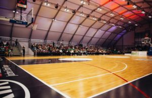 How to Properly Care For Your Hardwood Basketball Court - Scrub and Recoat