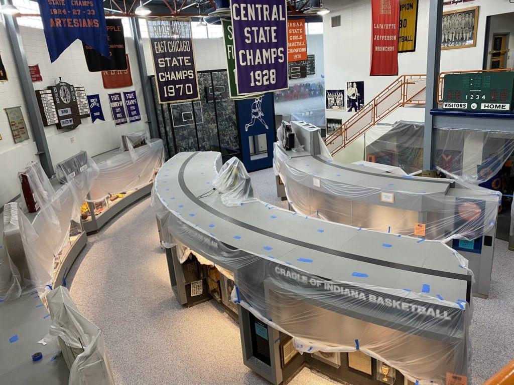 Indiana Basketball Hall of Fame Renovation