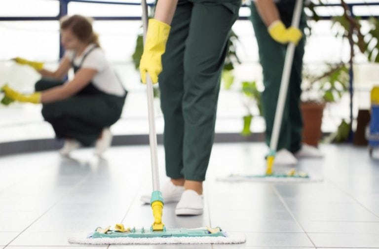 cleaning services jobs indiana